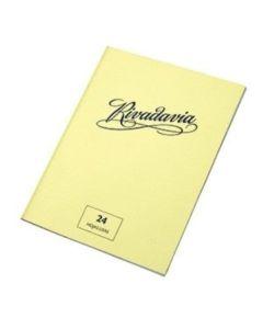 Cuaderno Tapa Flexible Liso x24H