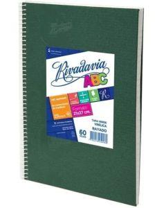 Cuaderno N°3 60 hojas Cuadriculado ABC Verde Araña