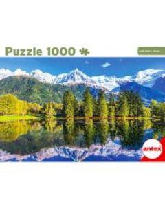 Puzzle 1000 piezas 'Monte Blanco'