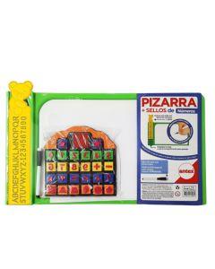 Pizarra + sellos de numeros