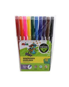 10 marcadores escolares
