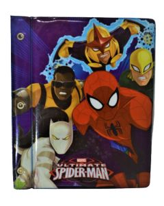 Carpeta N°3 2 tapas pvc Spiderman