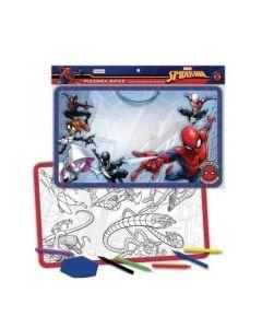 Pizarra Bifaz para dibujar y pintar 'Spider Man'