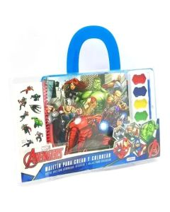 Maletin para crear y colorear Avengers