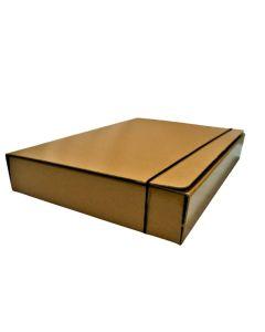 Carpeta tipo caja Kraft N°6 Oficio