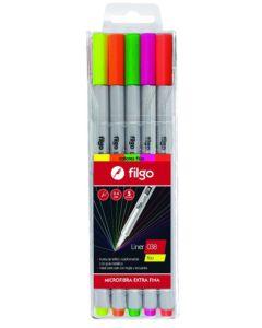 5 Microfibras Liner 038 Flúo