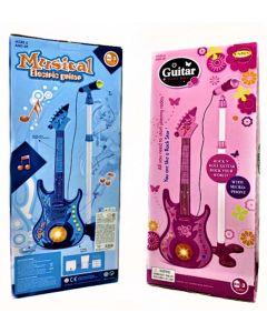 Guitarra musical electric guitar con microfono 'Varios colores'