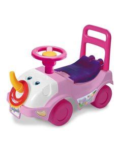 Andador elefante rosa