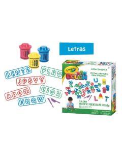 Crayola dough kit de masas didacticas letras/Animalitos