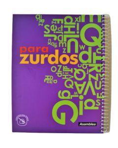 Cuaderno A4 Para Zurdos Tapa Flexible x48h Cuadriculado