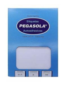 Etiqueta Pegasola N°3040 x 30 planchas