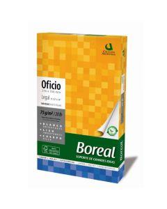 Resma Boreal Oficio 75 gr,.