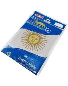 Bandera argentina c/ sol 90x144