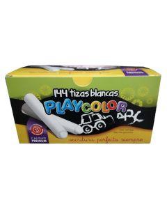 144 Tizas Blancas Playcolor