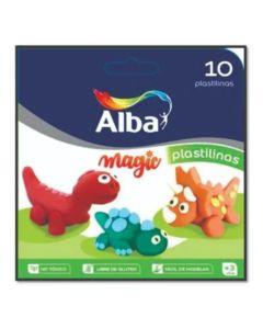 Plastilina Alba 10 u. de colores
