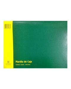 Talonario Planilla de Caja 100 hojas