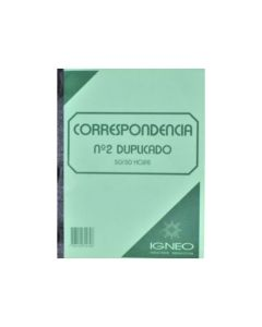 Libro Correspondencia nº2 duplicado