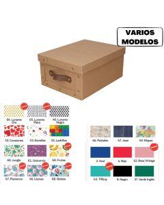 Caja archivo estampada A4 'Varios modelos'