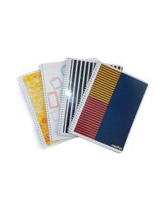 Cuaderno Espiral Cuadriculado x80H