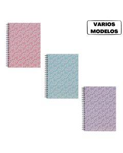 Cuaderno 29.7 espiralado 90 hojas rayadas Mosaico