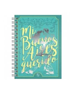 Cuaderno anillado 16x21 Buenos aires 'Varios modelos'