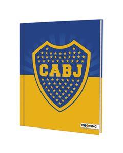 Cuaderno Tapa Dura 48 hojas Boca Juniors 'Varios Modelos'