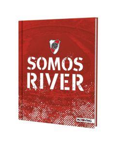 Cuaderno 16x21 Tapa Dura Rayado x48h River