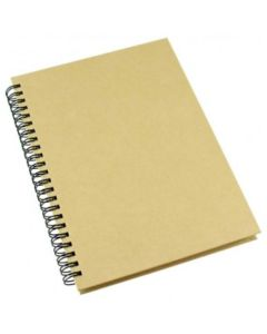 Libreta A5 80 hojas lisas de papel ecologico