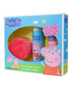 Jabon liquido infantil Peppa pig ¡Para pintar azulejos!