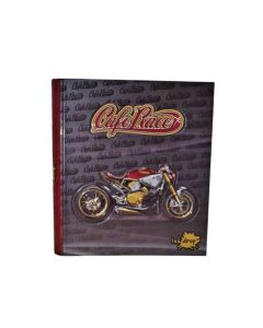 Carpeta A4 Estampada Cafe Racer 2x40