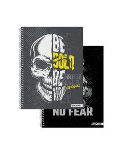 Cuaderno 29.7 Espiralado Rebel Skull Rayado 'Varios Modelos'
