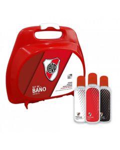 Set de baño River Plate