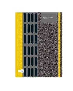 Cuaderno 16x21 80 hojas con elastico Linea arquitectura urbana 'Varios modelos'