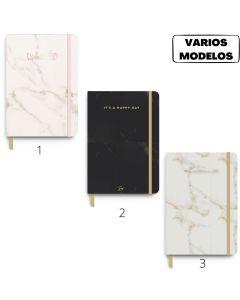 Cuaderno Bullet Journal A5 80 hojas Linea Marmol 'Varios modelos'