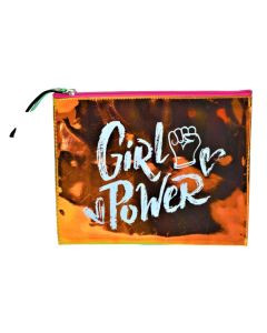 Portacosmetico Metalizado GIRL POWER