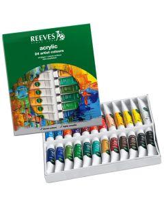 Set de 24 acrilicos de colores