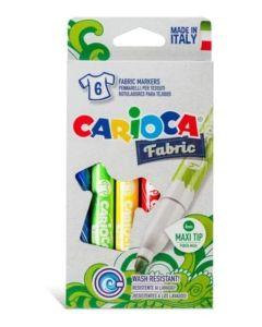 6 Marcadores textil fabric