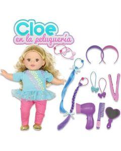 Bebe Cloe en la peluqueria