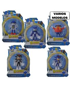 Muñeco Sonic 11cm  x1 'Varios Modelos'