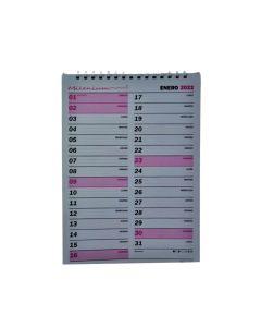 Planner 2022 32 ml. vertical mensual 23x32 cm.