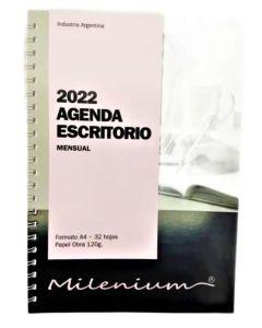Agenda escritorio 2022 Milenium 42 ml. anillada