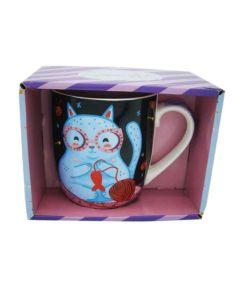 Taza ceramica Muaa gatito