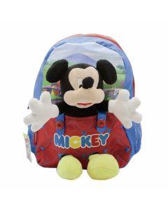 Mochila espalda 12´´ Mickey mouse con peluche