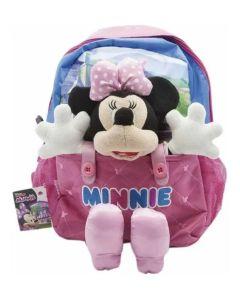 Mochila espalda 12´´ Minnie con peluche