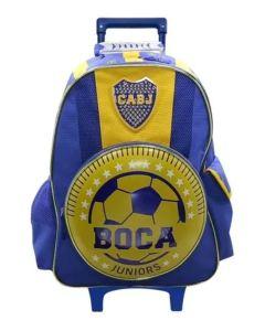 Mochila con carro 18´´ Boca Juniors