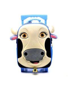 Mochila con Carro 12' La Vaca Lola ' La Granja de Zenon'