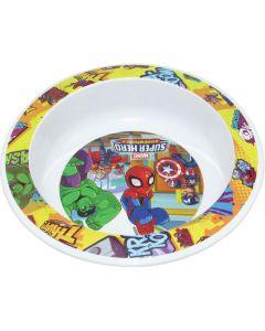 Bowl plastico super hero adventures