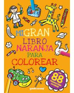 Mi gran libro Naranja para colorear