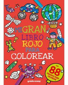Mi gran libro rojo para colorear