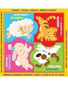 Libro puzzlebooks animales
